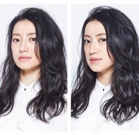 微卷中长发烫发发型,中长发微卷发型图片(图)