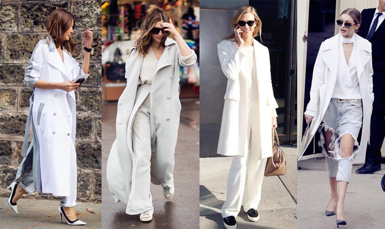 白色大衣里面穿什么打底,白色大衣里面搭配什么,白